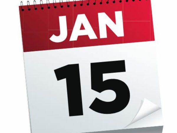 Fontos határidő: január 15.!
